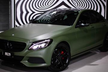 Mercedes Colour change