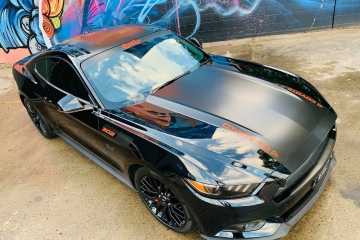 Mustang GT Body Decals