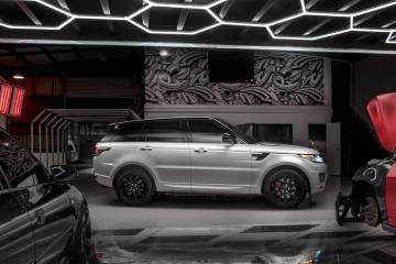 Range Rover Pearl Colour Change
