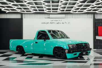 Toyota Hilux Colour Change