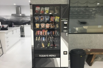 Spine St Studios Vending Machine Wrap